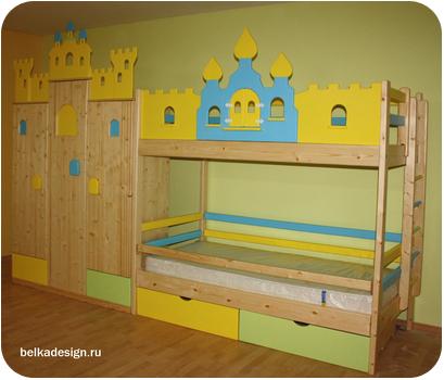 Купить двухъярусную кровать в Казани, цены на двухъярусную кровать с доставкой, фото и прайс-листы в Казани